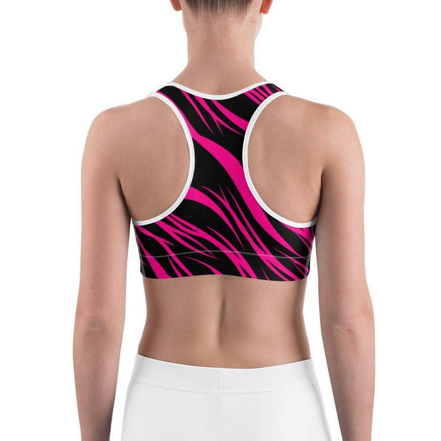 Pink Power Sports bra | Submission Shark