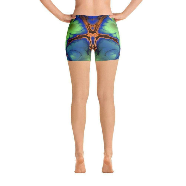 Liquid Trip Sports Shorts | Submission Shark Back