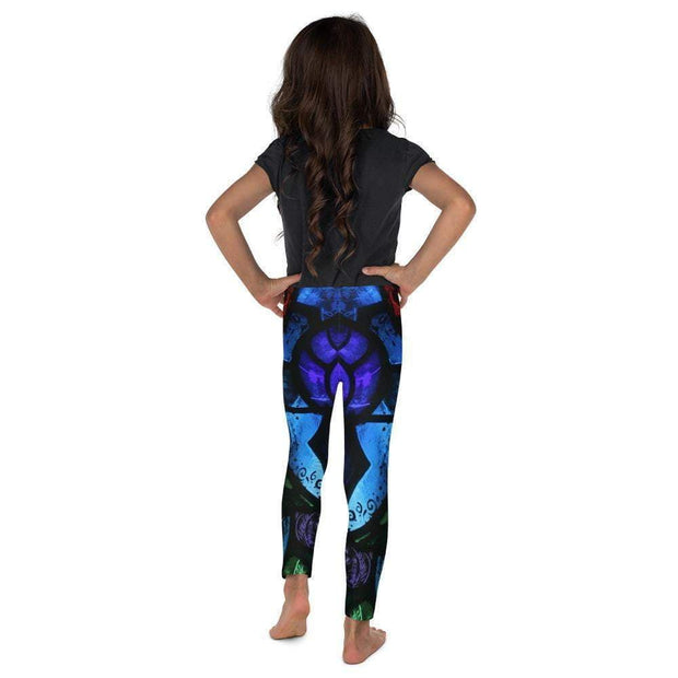 Spiritual Awakening Kid's Leggings | Submission Shark Back