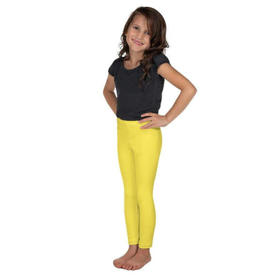 Yellow SS Premium Standard | Kid's Leggings | Submission Shark - tamlifestyle