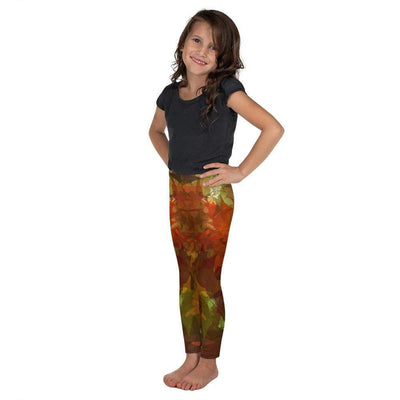 Maple Fall | Kid's Leggings | Submission Shark - tamlifestyle