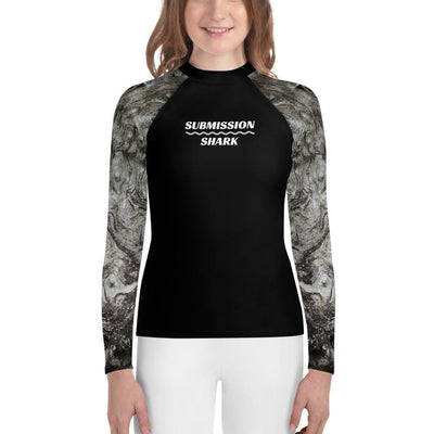 Volcanic Ashes - Youth Jiu Jitsu Rash Guard