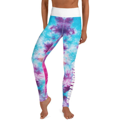 Women's Colorful High-Waist Leggings (Tye Dye)