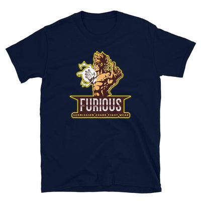 Furious Fighter ~ Navy MMA T-Shirt