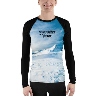 Men's BJJ Rash Guard (Tundra Avalanche)