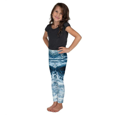 Wicked Waves | Kid's Leggings | Submission Shark - tamlifestyle