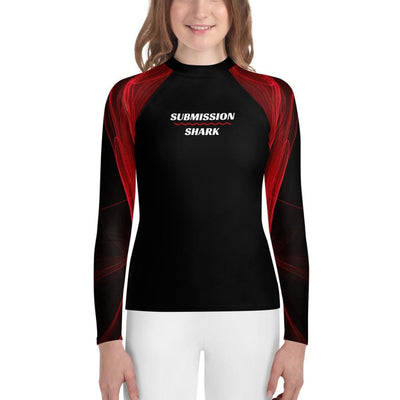 Calm Blaze - Youth Rash Guard (BJJ Gear)