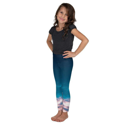 Aquatic Skies Kid's Leggings | Submission Shark - tamlifestyle