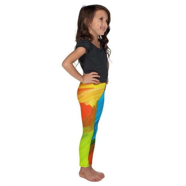Colorful Artist Kid's Leggings | Submission Shark Right