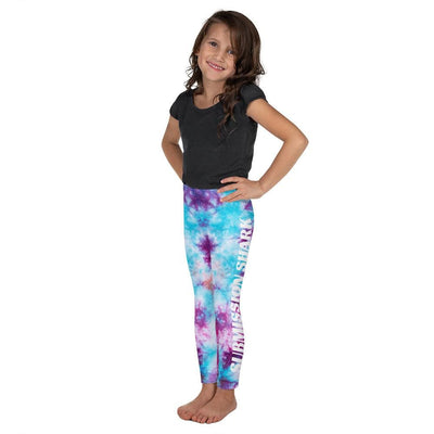 Kid's BJJ Leggings (Tye Dye)