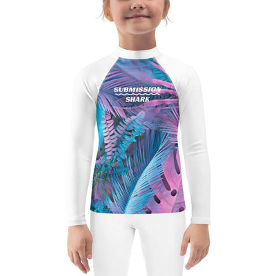 Kid's BJJ Rash Guard (Cotton Candy Crush)