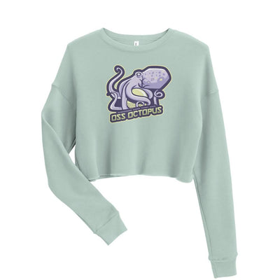 Shop Women's Crop Sweatshirt (OSS Octopus)