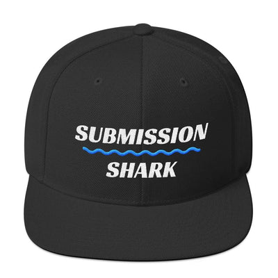 Blue SS Premium Standard 2 | Snapback Hat - Submission Shark