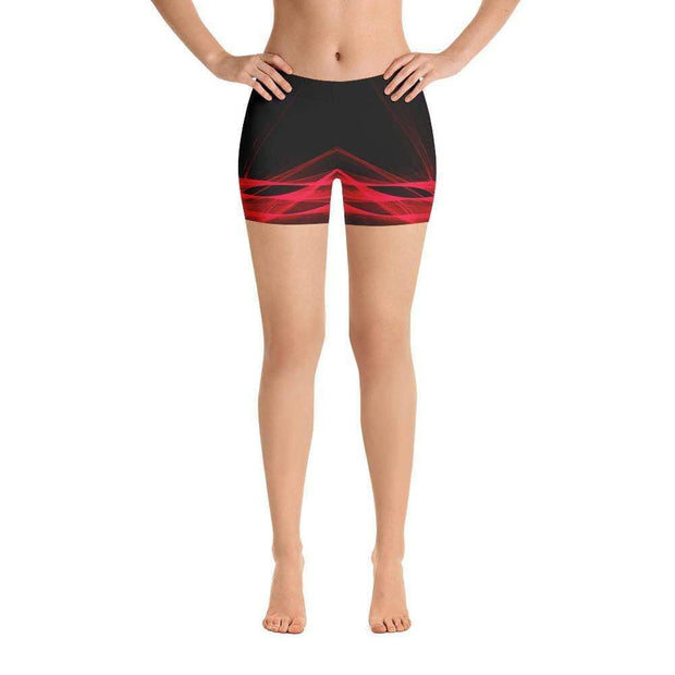 Calm Blaze Sports Shorts | Submission Shark Front