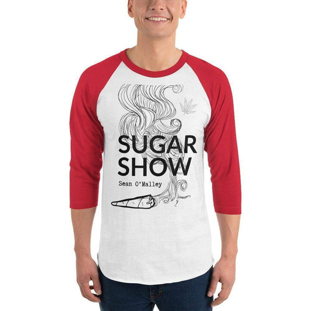 Sugar Show Sean O'Malley 3/4 sleeve raglan shirt Red
