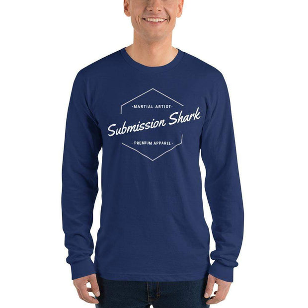 Submission Shark's Classic Long Sleeve T-Shirt (unisex) - tamlifestyle