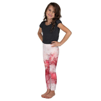Coral Birds Kid's Leggings | Submission Shark - tamlifestyle