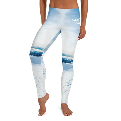 Full Guard BJJ Leggings (Tundra Avalanche)