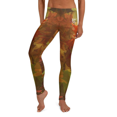 Maple Fall ~ Full Guard BJJ Leggings