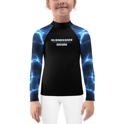 Aquatic Storms ~ Kids BJJ Rash Guard