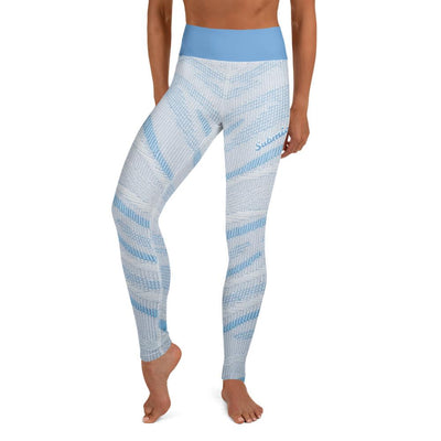 Arctic Air ~ High-Waist BJJ Leggings