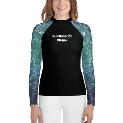 Space Stars - Unisex Youth No-Gi Jiu Jitsu Rash Guard