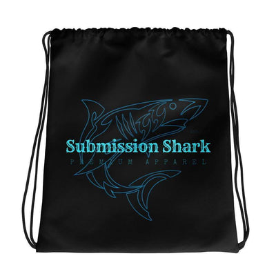 Submission Shark's Ocean Glow Drawstring Gi bag - tamlifestyle