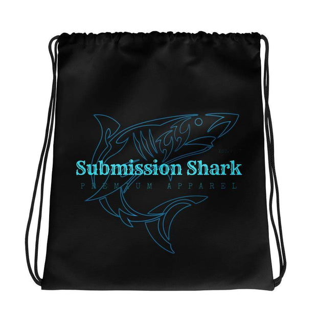 Submission Shark's Ocean Glow Drawstring Gi bag