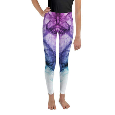 Euphoric Vapor Youth Leggings | Submission Shark - tamlifestyle