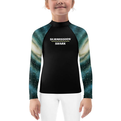 Galactic Swirl ~ Kids BJJ Rash Guard