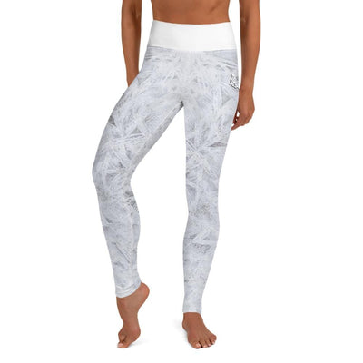 High-Waist BJJ Leggings (Winter Wonderland)
