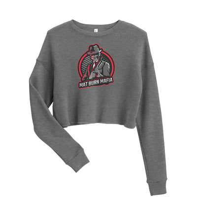 Mat Burn Mafia ~ Crop BJJ Sweatshirt