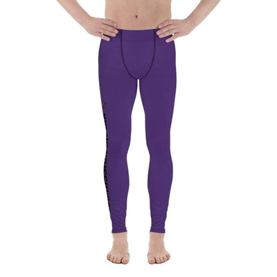Purple SS Premium Standard | Men's Compression Spats | Submission Shark - tamlifestyle