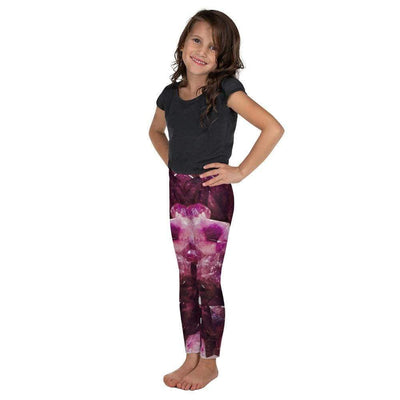 Violet Gemstones Kid's Leggings | Submission Shark - tamlifestyle