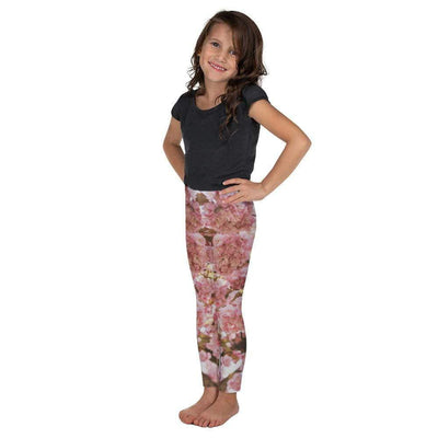 Pink Blossom Kid's Leggings | Submission Shark - tamlifestyle