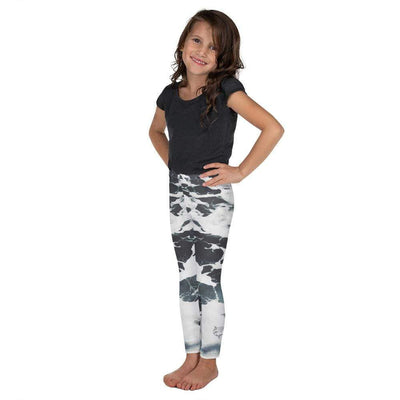 Ivory Oceans | Kid's Leggings | Submission Shark - tamlifestyle