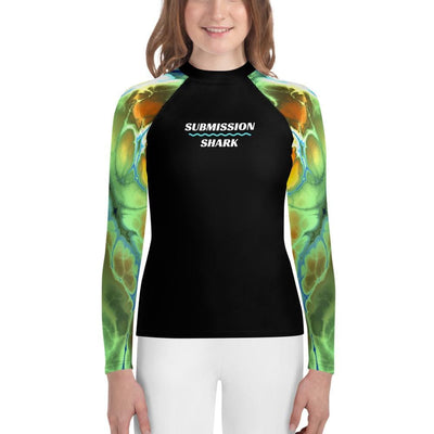 Liquid Trip - Colorful Youth Rash Guard
