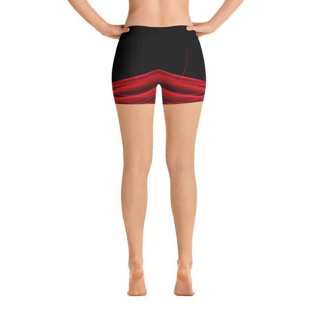 Calm Blaze Sports Shorts | Submission Shark Back