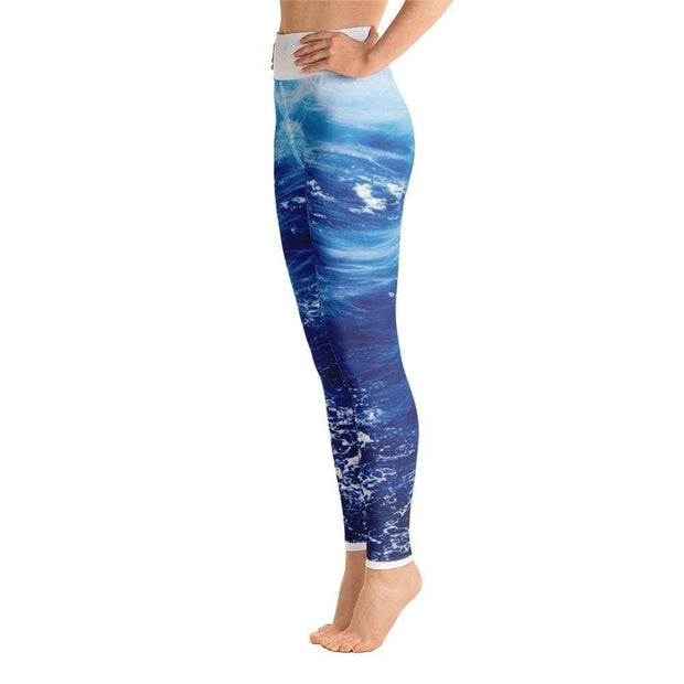 Wonderful Wave Yoga Leggings