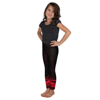 Calm Blaze Kid's Leggings | Submission Shark - tamlifestyle
