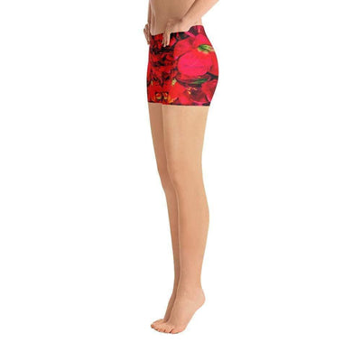 Scarlet Gardens Sports Shorts | Submission Shark Left