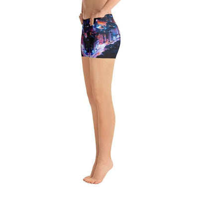 City Lights Sports Shorts | Submission Shark - tamlifestyle