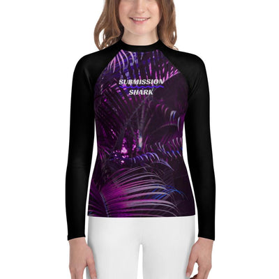 Rose Paradise - Unisex Youth Rash Guard