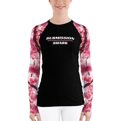 Morning Love ~ Women's Pink BJJ Rash Guard