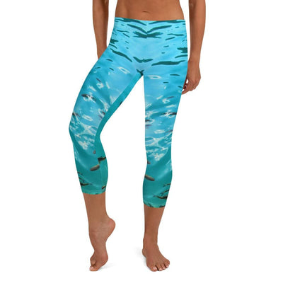 Fish's Paradise Capri BJJ Leggings