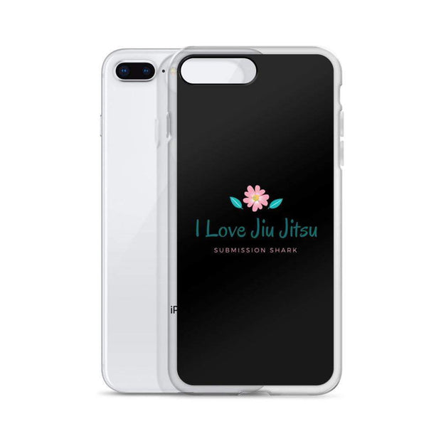 """I Love Jiu Jitsu"" iPhone Case"
