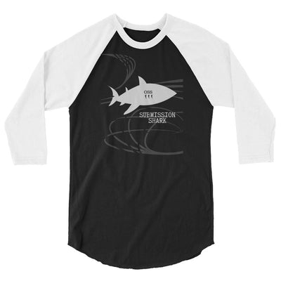 Jiu Jitsu Clothing (OSS Shark - 3/4 sleeve raglan shirt)