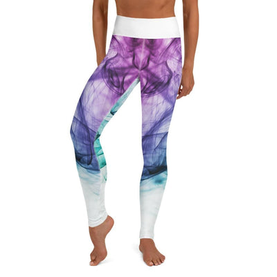 High Waist BJJ Leggings (Euphoric Vapor)