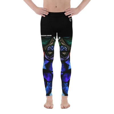 Spiritual Awakening | Men's Leggings | Submission Shark - tamlifestyle