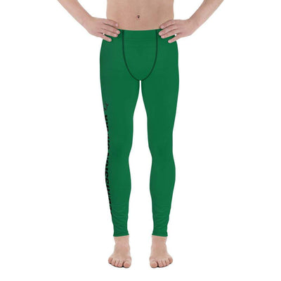 Green SS Premium Standard | Men's Compression Spats | Submission Shark - tamlifestyle